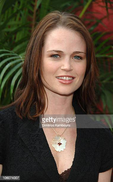 Sprague Grayden during CBS 2006/2007 Upfront Red Carpet at Tavern on the Green in New York City New York United States