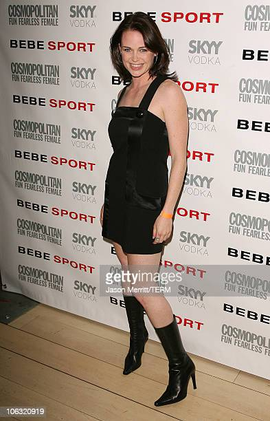 Sprague Grayden during Cosmo Magazine Launches BEBESPORT with Eva Longoria at Mondrian Hotel in Hollywood California United States