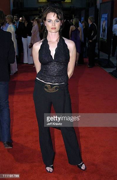 Sprague Grayden during HBO's Series Six Feet Under Season Four Los Angeles Premiere Arrivals at Mann's Chinese Theater in Hollywood California United...