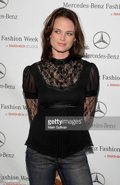 Sprague Grayden during MercedesBenz Spring 2007 LA Fashion Week at Smashbox Studios Arrivals Day 1 at SmashBox Studio in Culver City California...
