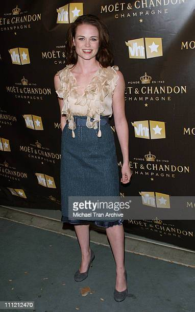 Sprague Grayden during VH1 and Moet Chandon Presents the 'Be Fabulous' Party November 9 2006 at Private Residence in Los Angeles California United...