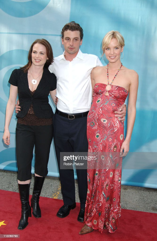Sprague Grayden, Skeet Ulrich and Ashley Scott during CBS Upfront 2006 - 2007 at Tavern On The Green in New York City, New York, United States.
