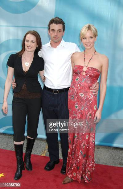 Sprague Grayden Skeet Ulrich and Ashley Scott during CBS Upfront 2006 2007 at Tavern On The Green in New York City New York United States