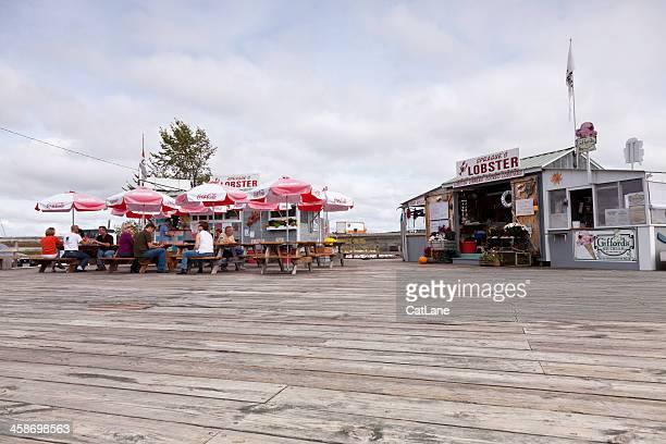 See Sprague's Lobster zum-Mitnehmen-Restaurant, Maine