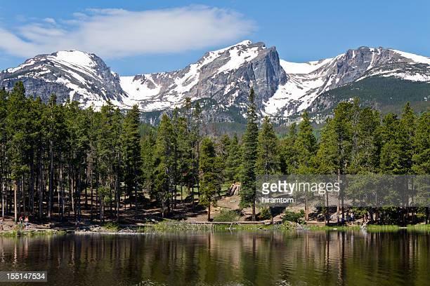 Sprauge Lake and Hallet Peak, Rocky Mountain National Park