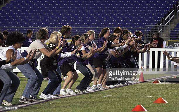October 1, 2007 CREDIT: Carol Guzy/The Washington Post Baltimore MD A Purple Evening at M&T Stadium, home of the Ravens.