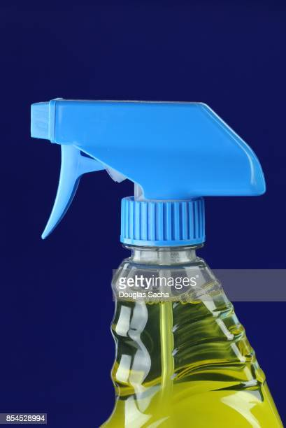 Spray bottle of liquid disinfection