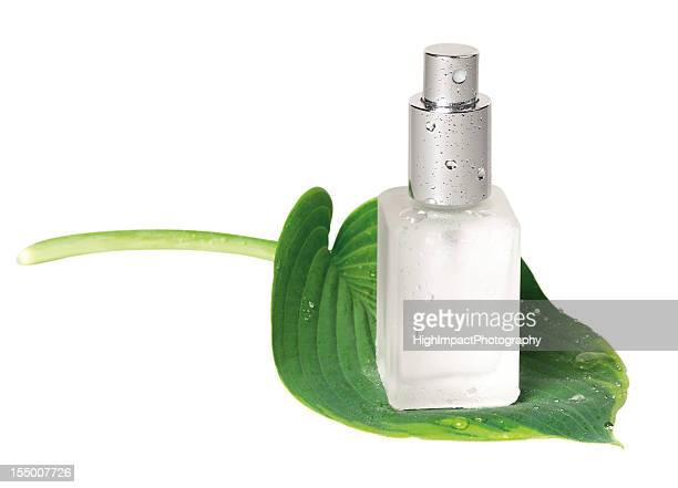 Spray Bottle on Leaf