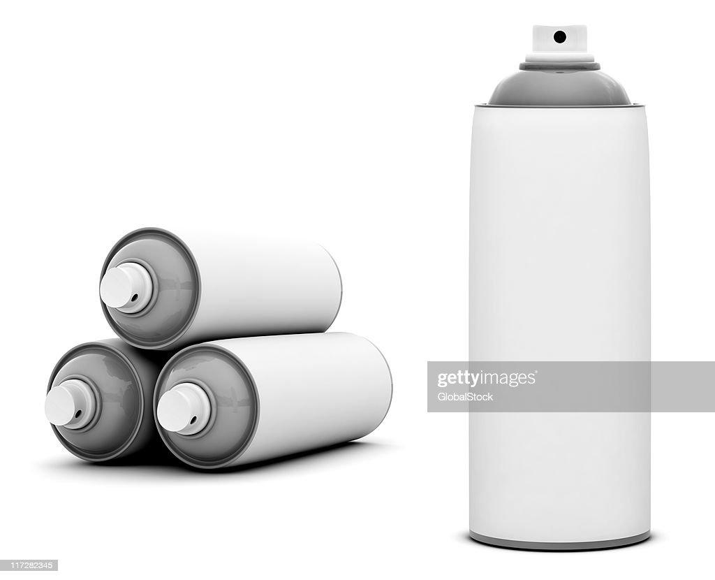 Spray Cans : Stock Photo