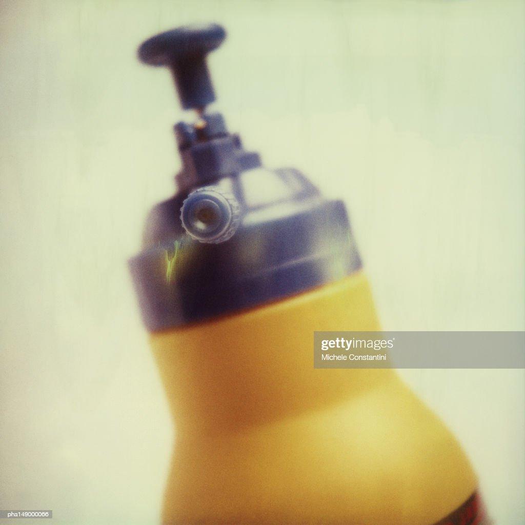 spray fertilizer. : Stockfoto