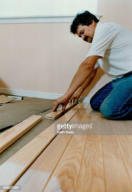 4 Spread out the flooring to get a total effect Wood is a natural product subject to variations in color and grain and mixing planks from different...