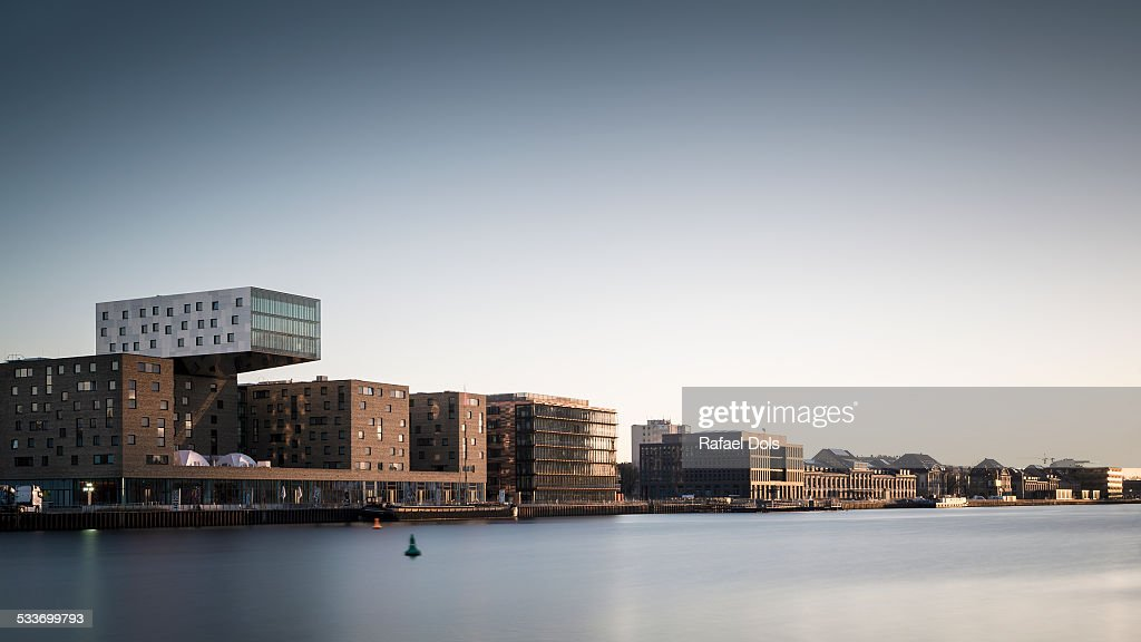Spree at sunrise : Foto stock