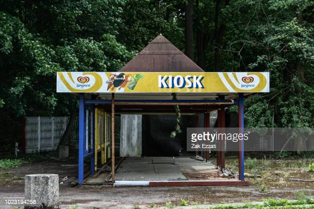 spreepark, abandoned theme park in gddr - köpenick stock pictures, royalty-free photos & images