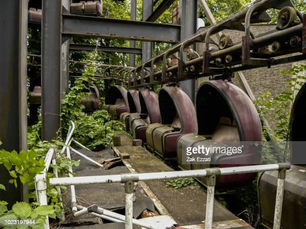 Spreepark, abandoned theme park in GDDR