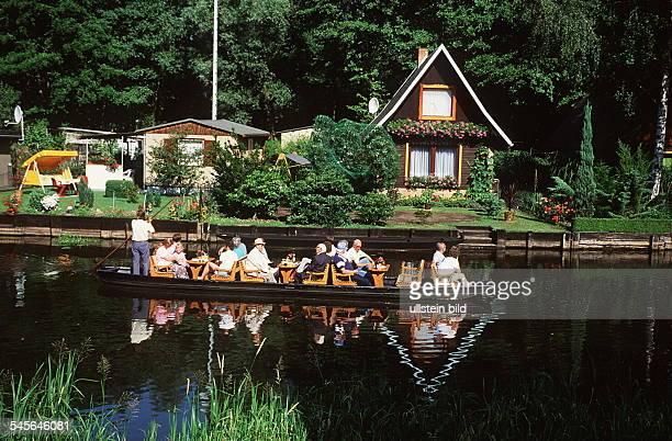 Spreewaldkahn in Lübbenau- 1994