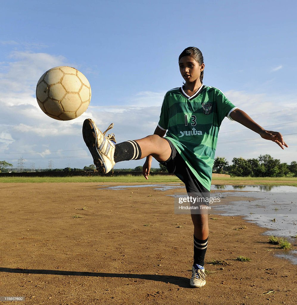 Spriha Kumari of the Yuwa Football Academy during the practice session at Hutap village on August 2, 2013 in Ranchi, India. On July 13, the 18 tribal girls representing Yuwa India under-14 all-girls team were placed third among 10 teams playing for the Gasteiz Cup in Victoria Gasteiz in Spain. In 2012, Yuwa became the first organisation in India to win the Nike Gamechangers Award. Yuwa also won the NDTV Spirit of Sports Award, Times Now Amazing Indians Award. Set up in 2009 by Franz Gastler, its an NGO that uses football to combat child marriage and human trafficking in Jharkhands tribal belt. Gastler, a US citizen, started as an English teacher for underprivileged children when he was requested by the girls to teach them football. He formed Yuwa India, a U-14 side with girls from local villages. Having started with 15 girls in 2009, Yuwa now has over 200 aspiring footballers. The Jharkhand government has announced it would build a stateof-the-art stadium on five acres of land for the Yuwa girls. Chief Minister Hemant Soren also announced cash awards of Rs 21,000 to each of the 18 girls who were in the squad. The Yuwa team would be felicitated by the state government on August 29, the National Sports Day.