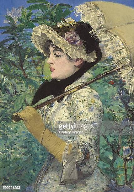 Spring 1881 Found in the collection of J Paul Getty Museum Los Angeles Artist Manet Édouard