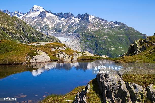 frühling im mountain lake - lucyna koch stock-fotos und bilder