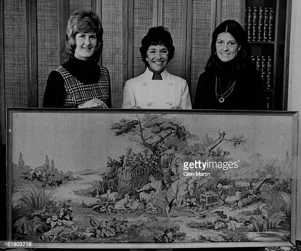 MAR 4 1974 MAR 11 1974 MAR 12 1974 Spring Auction to Aid Education Organization From left Mrs Joseph Clancy Mrs Herbert Crane and Mrs Adolph Coors IV