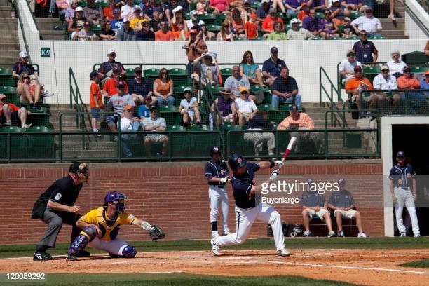 Spring baseball game Auburn University Auburn Alabama 2010