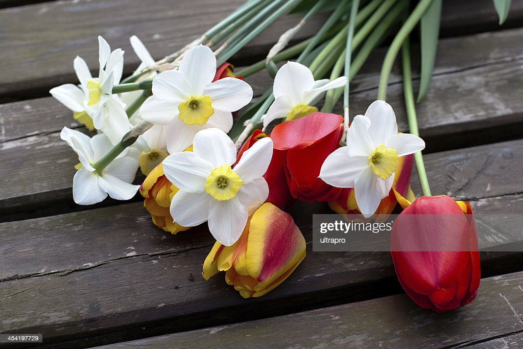 Ramo de flores de primavera : Foto de stock