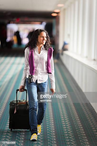 Aéroport de Young voyageurs