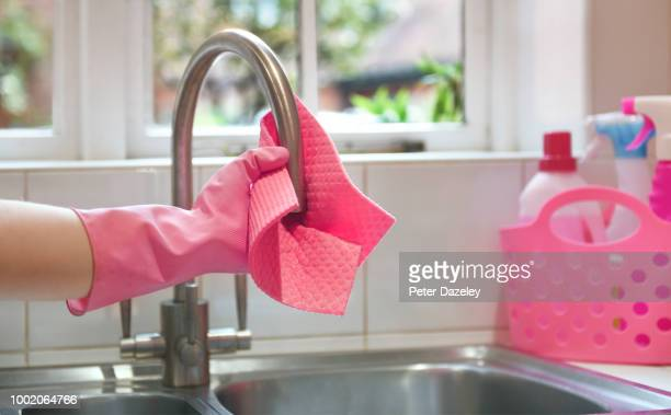 spring cleaning kitchen - order stock pictures, royalty-free photos & images