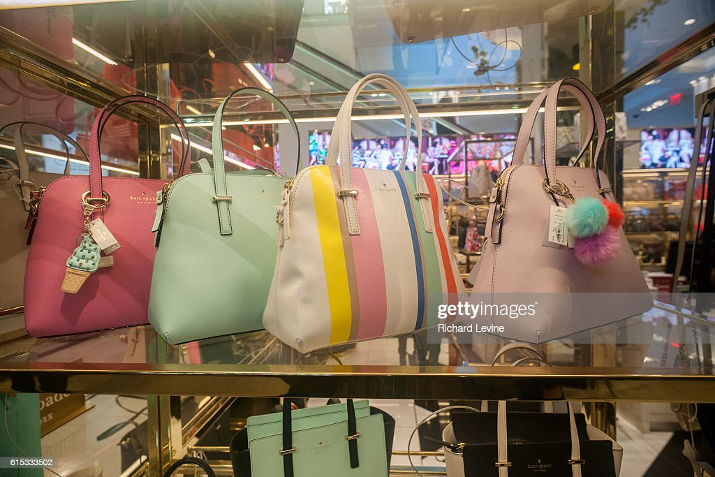 Kate Spade boutique in Macy's in New York : News Photo