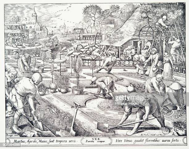 Spring engraved by Visscher 1570