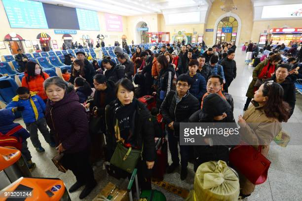 2018 Spring Festival travel rush kicks off on 01th February 2018 in China