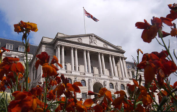 Spring flowers bloom in front of the bank of england in thre spring flowers bloom in front of the bank of england in thre mightylinksfo