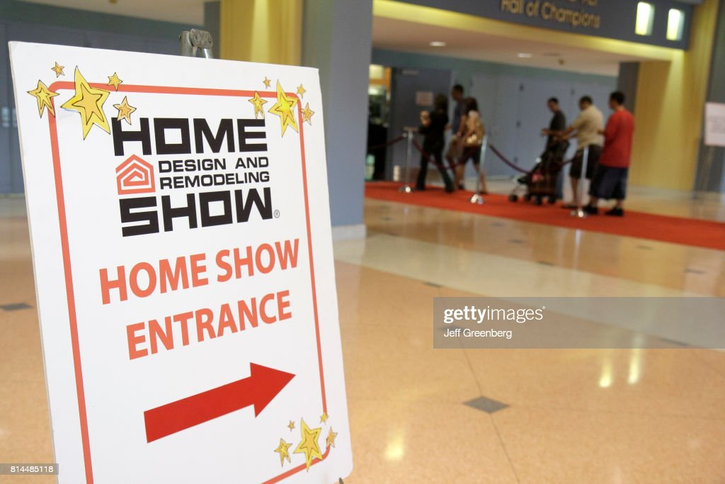 Spring Home Design And Remodeling Show Entrance Sign.