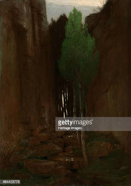 Spring in a Narrow Gorge 1881 Found in the collection of the J Paul Getty Museum Los Angeles