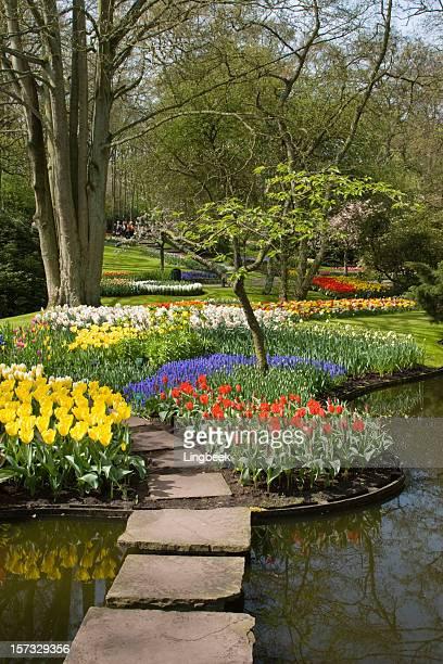 Spring in Keukenhof Gardens