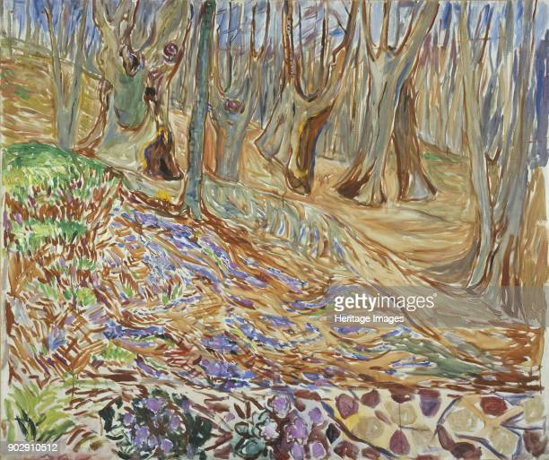 Spring in the Elm Forest Found in the Collection of Munch Museum Oslo