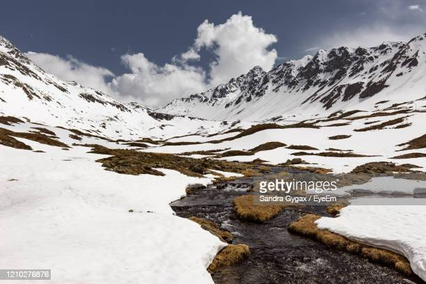 spring in the swiss alps - sandra gygax stock-fotos und bilder