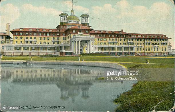 Spring Lake New Jersey Monmouth Hotel 1912