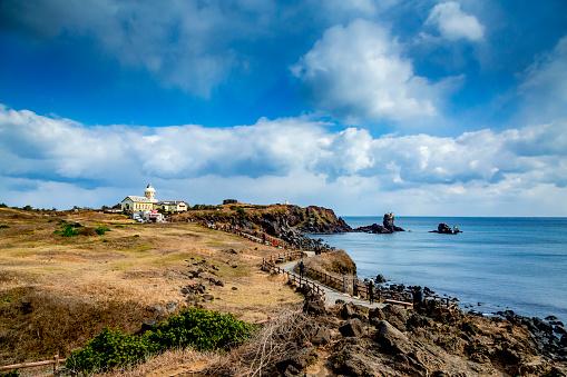 Spring of Seopjikoji Beach, Seogwipo, Jeju Island, Korea - gettyimageskorea