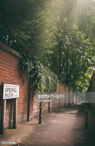 Spring Path, Hampstead, London