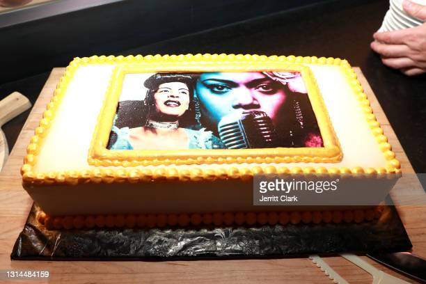 Spring Place's Oscars party honoring Andra Day and the cast of The United States vs. Billie Holiday on April 25, 2021 in Beverly Hills, California.