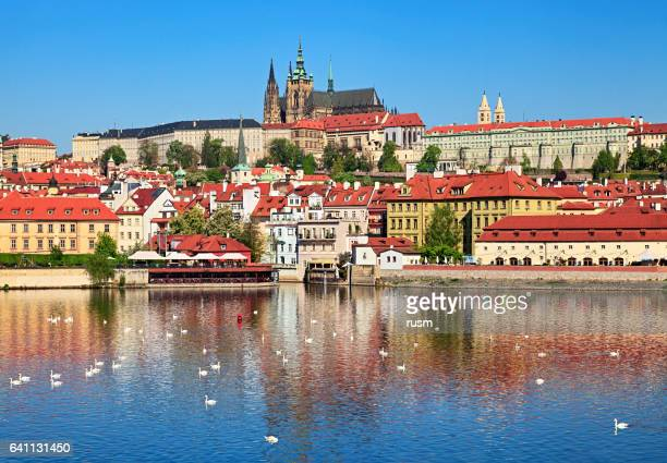 spring prague view - prague stock pictures, royalty-free photos & images