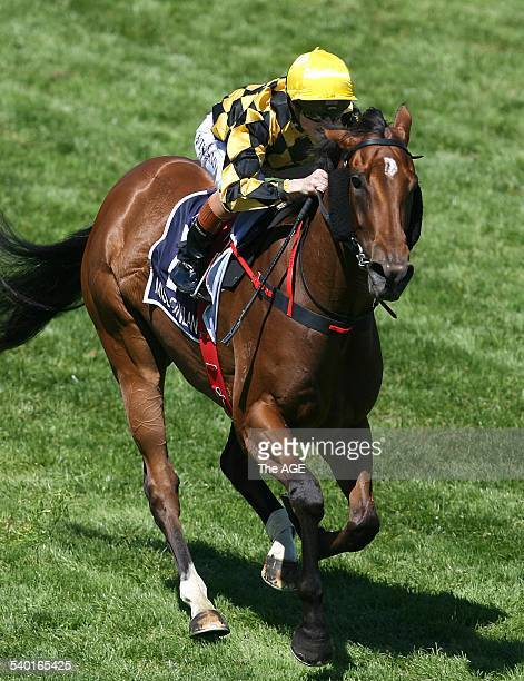 Spring Racing Carnival 2006 Jockey Craig Williams after riding Miss Finland to Victory in the Crown Oaks race on Oaks Day at Flemington Racecourse...