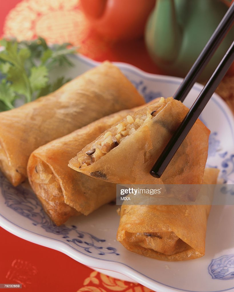 Spring Roll : Stock Photo