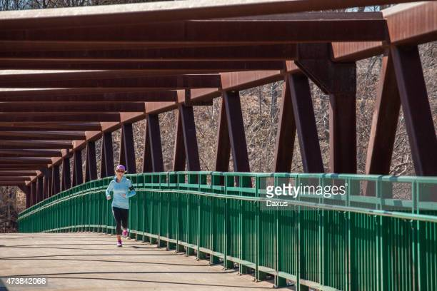 spring running - london ontario stock photos and pictures