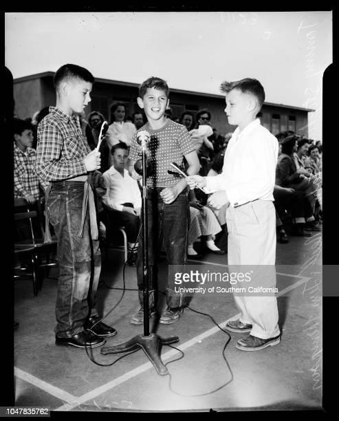 Spring School Dance Festival 21 May 1954 Laurel Goldsmith 6 yearsKenny Blake 6 yearsTommy StephensJohn O'NeillJim ThompsonJune HadsellJimmy...