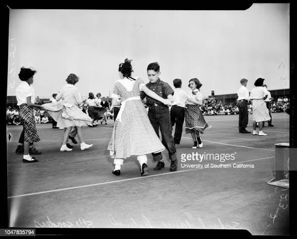 Spring School Dance Festival 21 May 1954 Laurel Goldsmith 6 yearsKenny Blake 6 yearsTommy StephensJohn O'NeillJim ThompsonJune HadsellJimmy...
