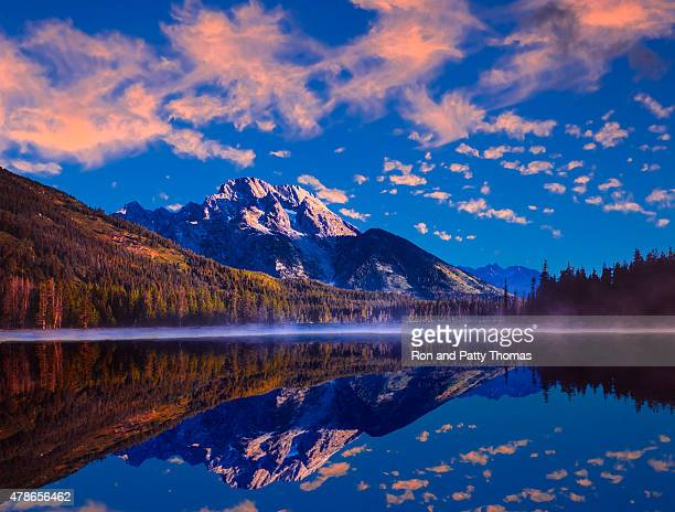 Spring sunrise in Grand Teton National Park, WY