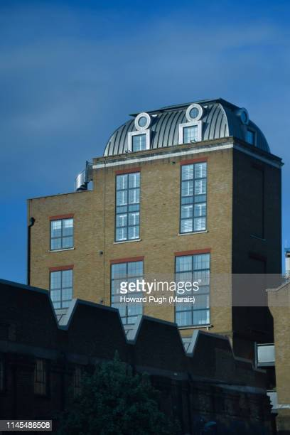 Spring Sunshine Riverbank Candle Factory Architecture