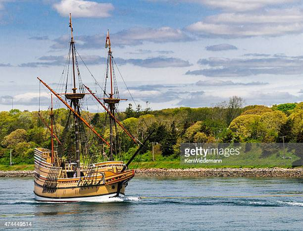 spring transition - the mayflower stock photos and pictures