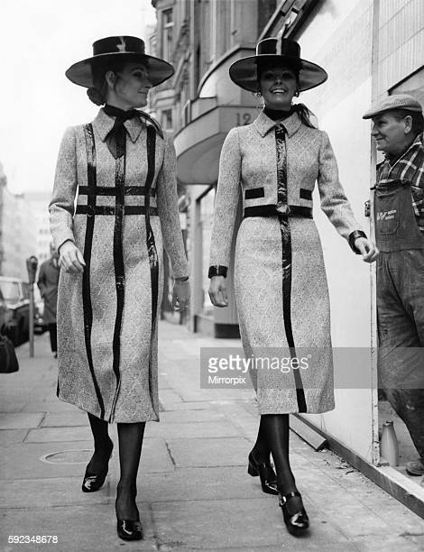 Spring will be a little legless this year for those who do their shopping at Christian Dior Nothing goes any higher than the midi hems on the coat...